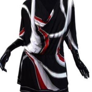 WHBM multicolored tunic Size L